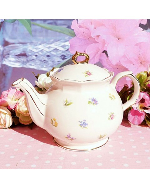 (OUT OF STOCK) SADLER VITAGE TEAPOT DITSY FLOWERS